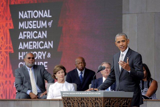 Obama en la inauguración del Museo de la Historia y la Cultura Afroamericana