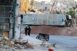 Los rebeldes sirios descartan las conversaciones de paz tras la ofensiva sobre Alepo