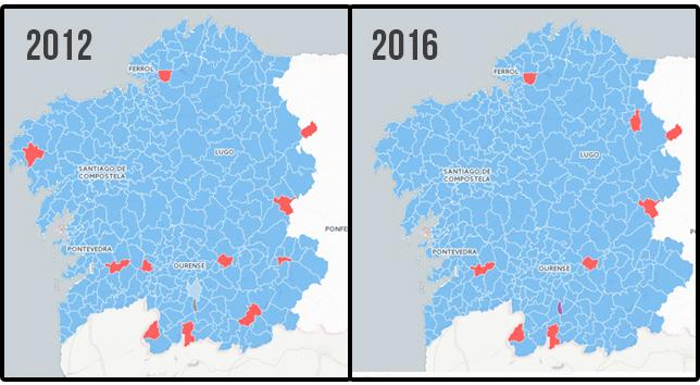 Resultados elecciones gallegas 2016