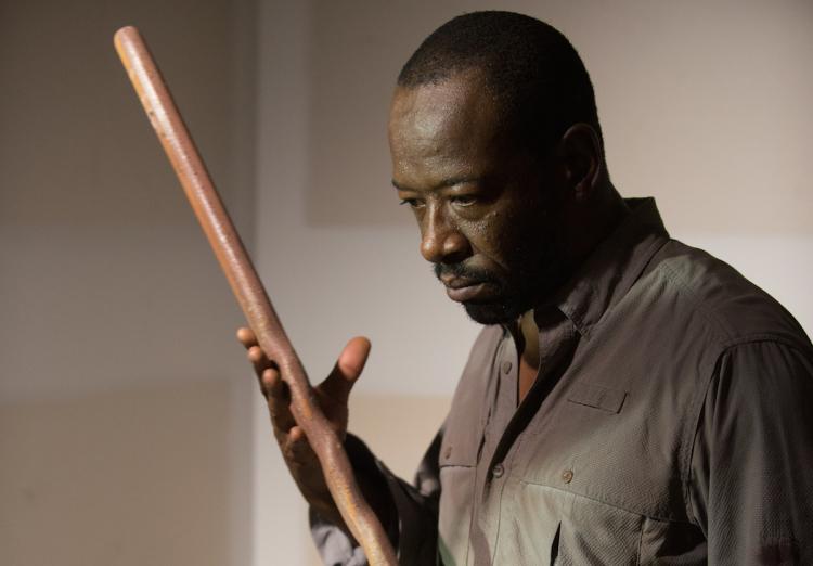 Morgan en The Walking Dead