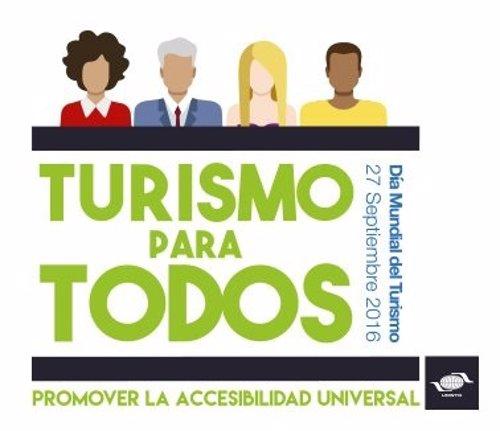 Lema del Día Mundial del Turismo 2016 'Turismo para todos'