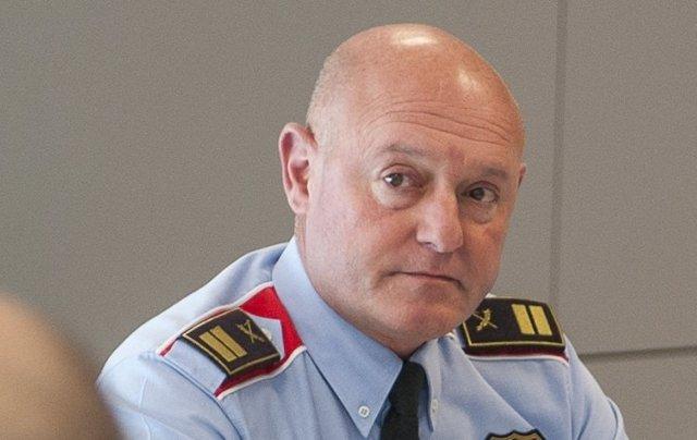 El comisario de Mossos David Piqué