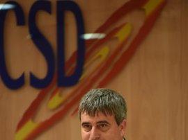 La Fiscalía pide el archivo de la causa contra el presidente del CSD por malversación