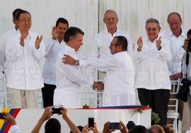 Las FARC piden perdón a todas las víctimas del conflicto tras la firma de la paz