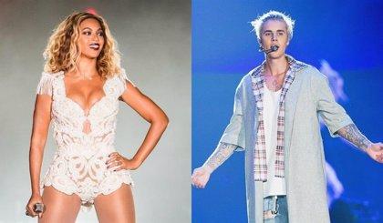 Beyoncé y Justin Bieber, favoritos a los MTV EMA 2016 con cinco nominaciones cada uno