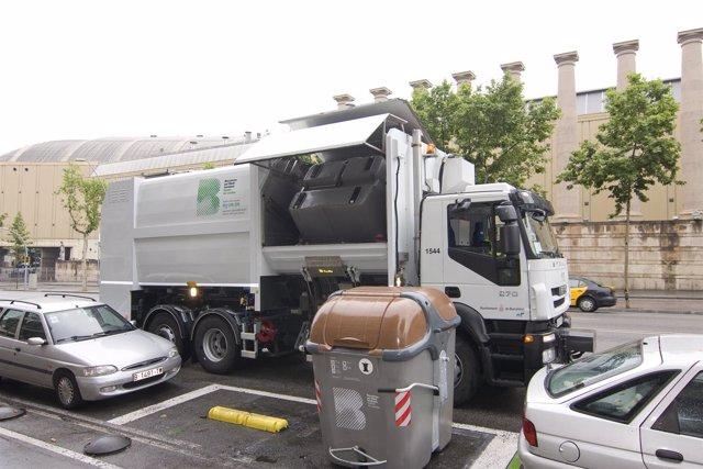 Camión de recogida de residuos de FCC