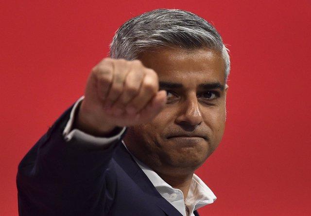 Sadiq Khan, candidato laborista a la Alcaldía de Londres