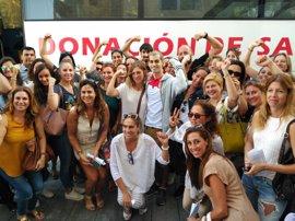 El Hospital Quirónsalud Marbella dobla en un día la media de donantes de médula en España