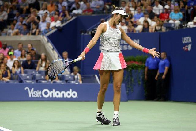 Garbiñe Muguruza, eliminada en el US Open