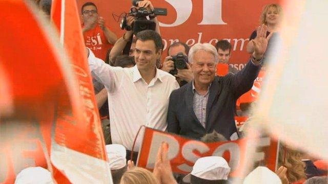 Felipe González pide al PSOE diálogo con Rajoy