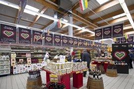 Las ventas en grandes superficies de Euskadi bajan un 1,4% en agosto