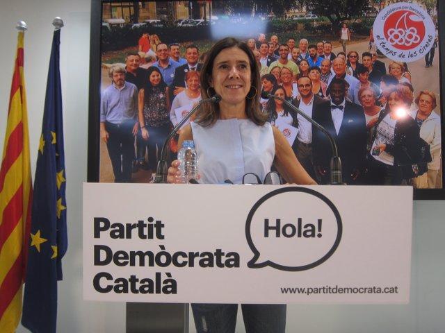 T.Pitarch, candidata del PDC a las primarias de la Federación de Barcelona