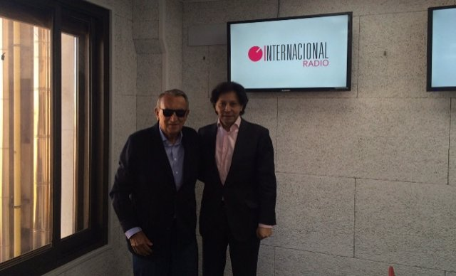 Carlos Fabra en una entrevista en Radio Internacional