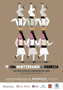 Cartel de la Fira Mediterrània de Manresa