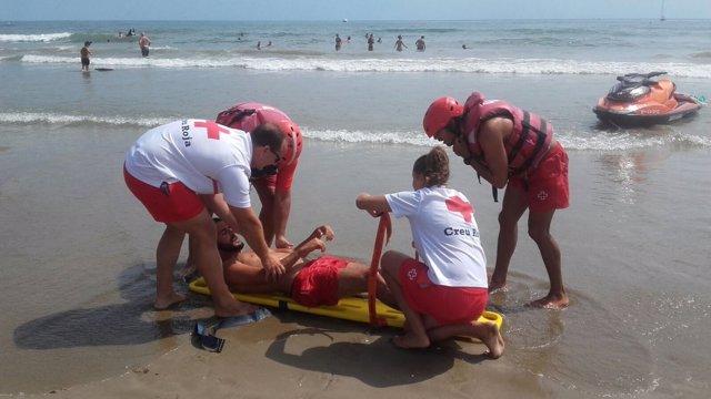 Intervenciones en playas
