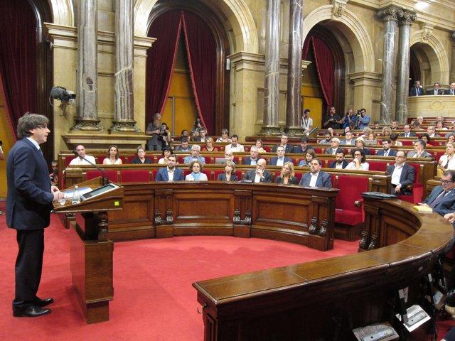 Carles Puigdemont, pte.De la Generalitat