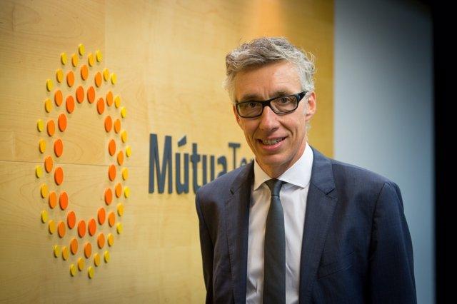 El nuevo presidente de la Mútua de Terrassa, Jordi Parera / Mútua de Terrassa