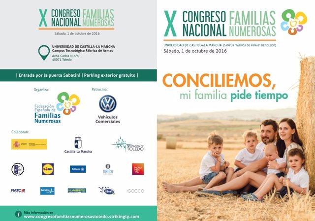 Congreso familias numerosas
