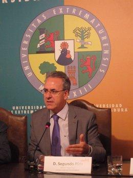 Segundo Píriz, rector de la UEx