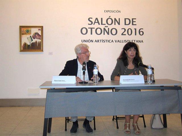 Miguel Ángel Soria y Ana Redondo presentan el 'Salón de Otoño'