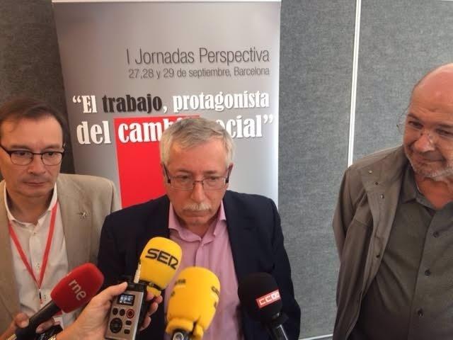 Ignacio Fernándex Toxo tilda de 'cacería' la crisis del PSOE