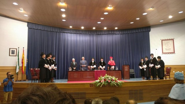 Inauguración Curso Académico en la Universidad de Huelva