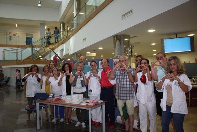Una de las actividades realizadas para celebrar el Día Mundial del Corazón