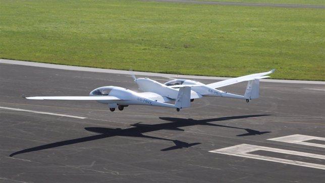 El vuelo del HY4