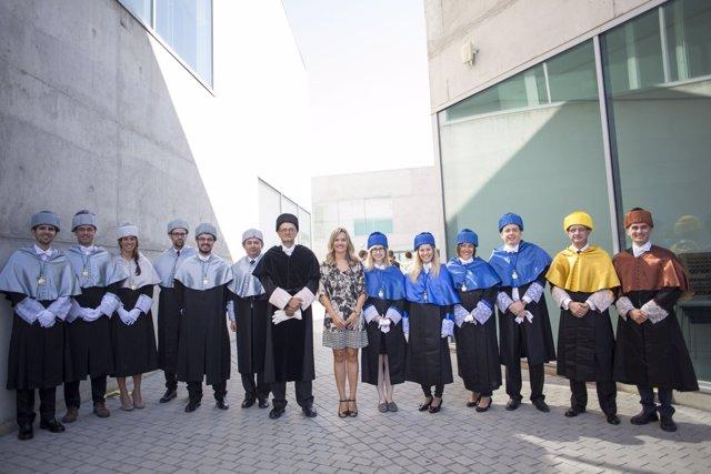 Acto de apertura del curso académico de la USJ