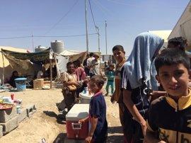 ACNUR denuncia que 400.000 personas se quedarán sin refugio tras el asalto final sobre Mosul