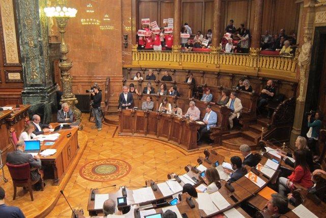 Pleno del Ayuntamiento de Barcelona de septiembre
