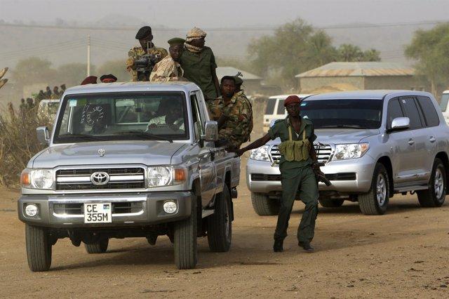 Rebeldes En Sudán