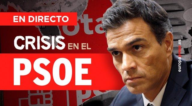 Crisis en el PSOE | Directo