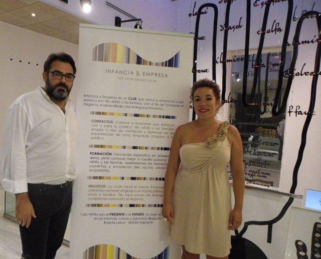 Miguel Ángel Piédrola, Director del MIMMA y Roseta Leiva