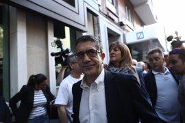 """Patxi López espera un debate con """"serenidad y cordura"""" y que todos tengan """"voluntad de unir, no de fracturar"""""""