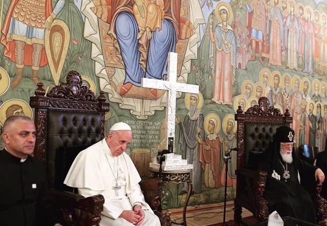 Papa Francisco en Georgia