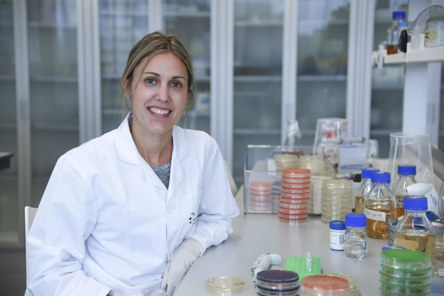 La investigadora de la UPNA Jaione Valle Turrillas.