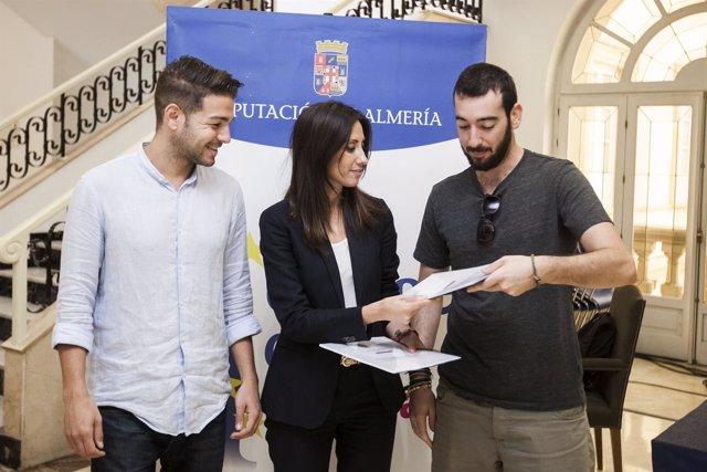 La Diputación de Almería lleva a dos almerienses a Polonia