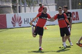 Godín se recupera para Mestalla y Tiago regresa a la lista