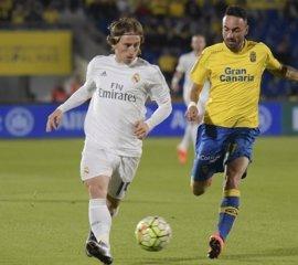 Modric sufre una lesión condral en la rodilla izquierda