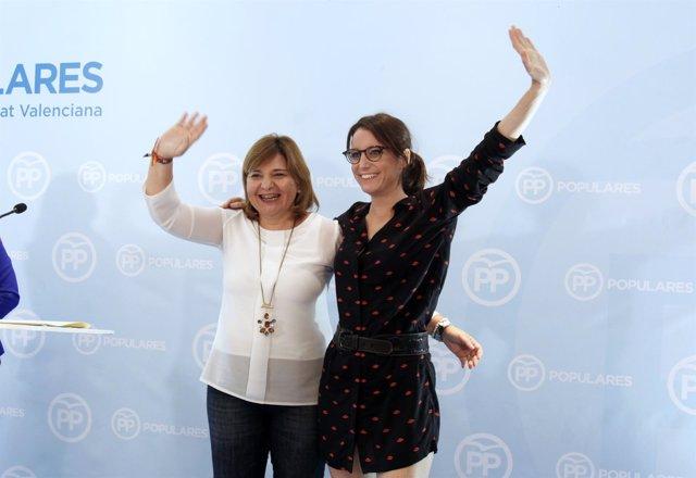 Bonig y Levy clausuran el acto del PPCV en Dénia