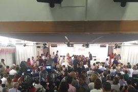 Incidente en el Comité Federal del PSOE entre Verónica Pérez y Rodolfo Ares por el uso de la palabra