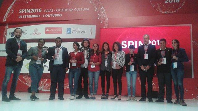 Participantes de Spin 2016