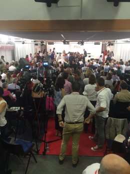 El Comité Federal del PSOE de este sábado sobre las 14:30 horas
