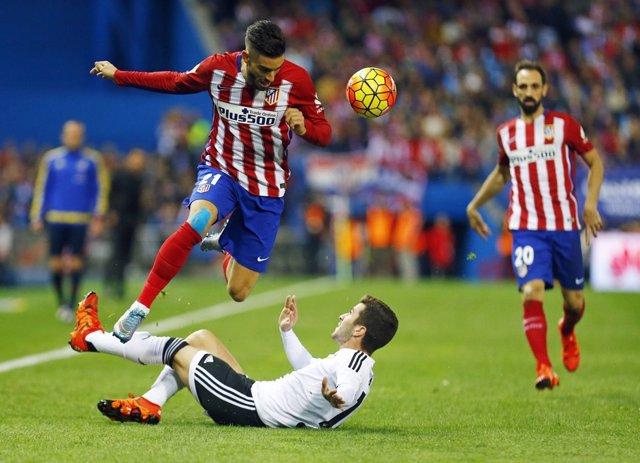 Atletico de Madrid vs Valencia, Carrasco.