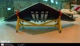 Irán presenta un dron de fabricación propia capaz de portar bombas inteligentes