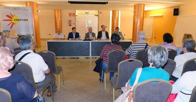 Día Internacional de las Personas de Edad en Tarazona.