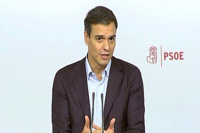 Pedro Sánchez dimite