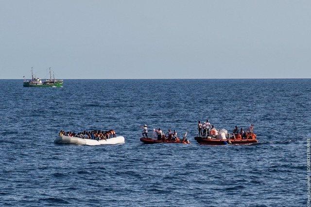 Operación rescate MSF octubre 2016