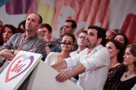 """Garzón dice que """"parece inevitable"""" un Gobierno de Rajoy tras la dimisión de Sánchez"""